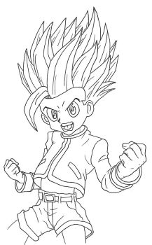 Gon Super Saiyan by Carlito89