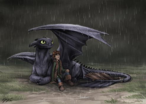 How To Train Your Dragon by pinali
