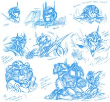 Moar Doodles and whatever by BHS-ArchetypeRex