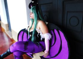 Morrigan Aensland: REI Cosplay by ReiParaguay