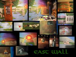 Eastern Zelda Wall by Ceil