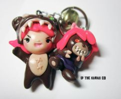 Reverse Annie charms by Thekawaiiod