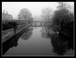 Foggy reflections by LordLJCornellPhotos