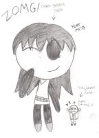 Sidney Chibi...and Jamie. XD by hollyberryx