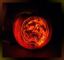 Skull Carving by GreyOfPTA