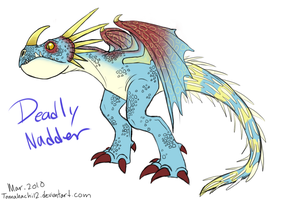 HTTYD Deadly Nadder by tomahachi12