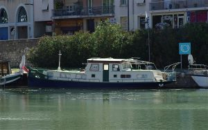 Boats 1 Beaucaire. France by jennystokes