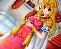 ALttP: Princess Zelda by Lady-of-Link