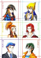 YGO 5ds - Gender Bending by punkbot08