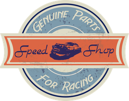 Speed Shop Vintage by grimescreations