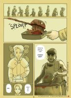 Corned Beef... Page One by wredwrat
