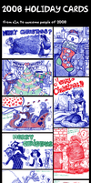 Holiday Card Compilation 2008 by e1n