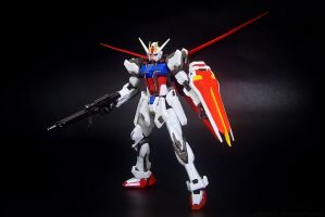 Aile Strike Gundam Figure by covenan