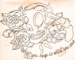 what you reap.... sketch by WillemXSM