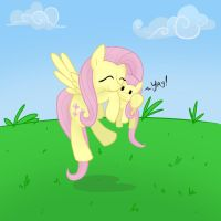 Diabetes is a pony named Fluttershy by SurgicalArts