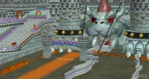 XNALARA model release! Bowser's Castle by Merytaten-tasherit