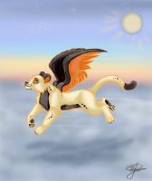 My dream is to fly by Jasmiijn