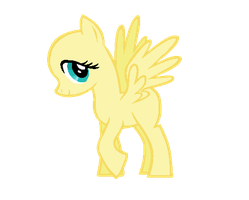 MLP:FiM Base: Fluttershy Stockphoto by caecii