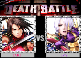 DB  Taki VS Ivy by KazuyaAlexander
