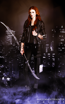 Holland Roden as a Shadowhunter by khaleesijamie