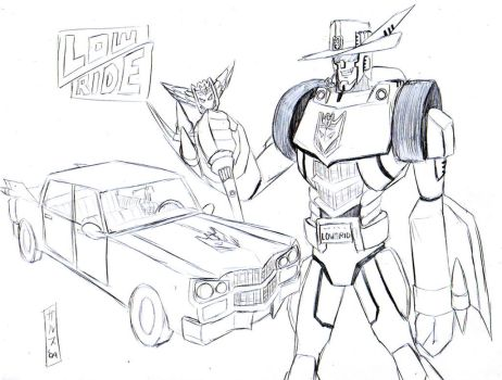 Transformers OCs: Lowride by Garth2The2ndPower