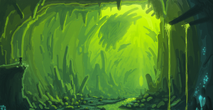 Artificial Cave by Torqbow