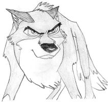 Angry Balto by Bitten2007