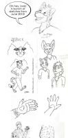 Sketches - June 2010 by Flexico