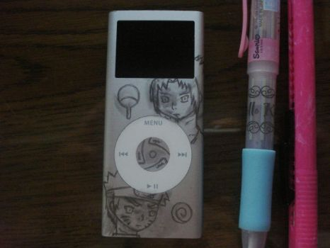 My iPod - Revamped: Pencil by yummyphud