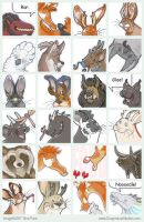 Toony icons by mirroreyesserval
