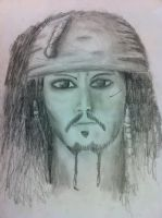 Captain Jack Sparrow~ by MysticalFiregirl