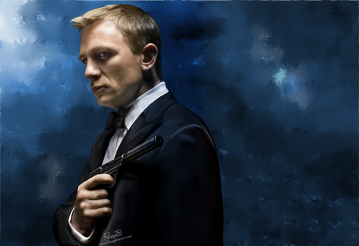 James Bond by Rousetta