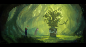 The Jungle of League of Legends by SamVerdegaal