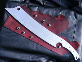 My Custom War Cleaver by Woe-Bringer