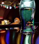 Matte Painting Study #2- Bar by ninjaisonfire