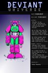 VibroBot For Deviant Universe by MushroomBrain