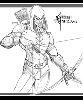 GREEN ARROW by DRAKEFORD