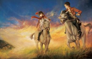 SnK: Sunset End by FalseDelusion