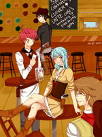 CLAC: HBD - Wild West Cafe by raruchiha