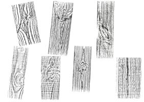 Woodgrain rubbings by yuyanda