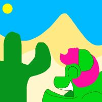 Cactus Cathy Back Home by MasterYubel