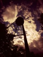 Wartime Water Tower by Kiddo0526