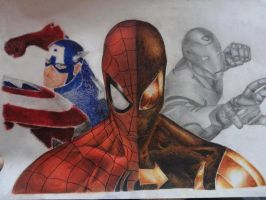 Civil War tradional painting (finished) by jann10