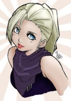 Ino Coloured by TehAngelsCry