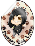 Honorary Dog Lover Badge by FlaminiaKennedy