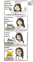 How to cook! (with me) by MarianaPDLC