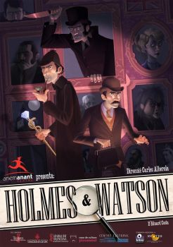 Holmes and Watson by Cowboy-Lucas