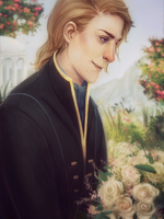 Art Raffle Price: Vincent Darling by Alanica