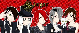GINGER:existtrace chibis by ASuicideDesire333