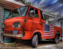 flag day in hdr by KrisKros2k
